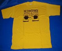 T-Shirt Strong Athletes against Steroids